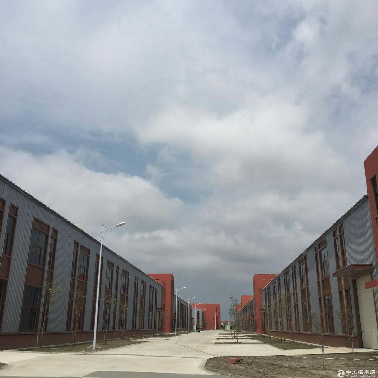 出售园区独立产权厂房,单层10米层高钢结构,双层标准厂房,可架行车,多面积可选-图2