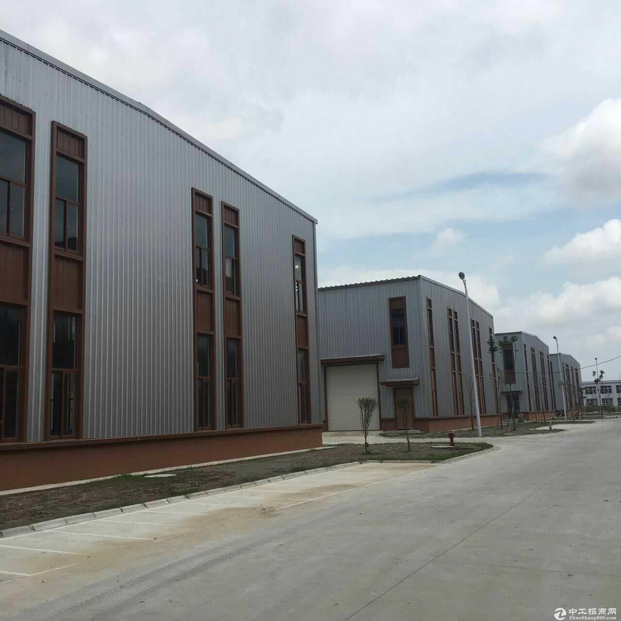 出售园区独立产权厂房,单层10米层高钢结构,双层标准厂房,可架行车,多面积可选-图3