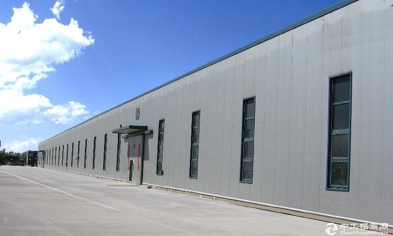 桃花工业园独栋厂房出售自由分割 独立产层高8.1米,可架行车,