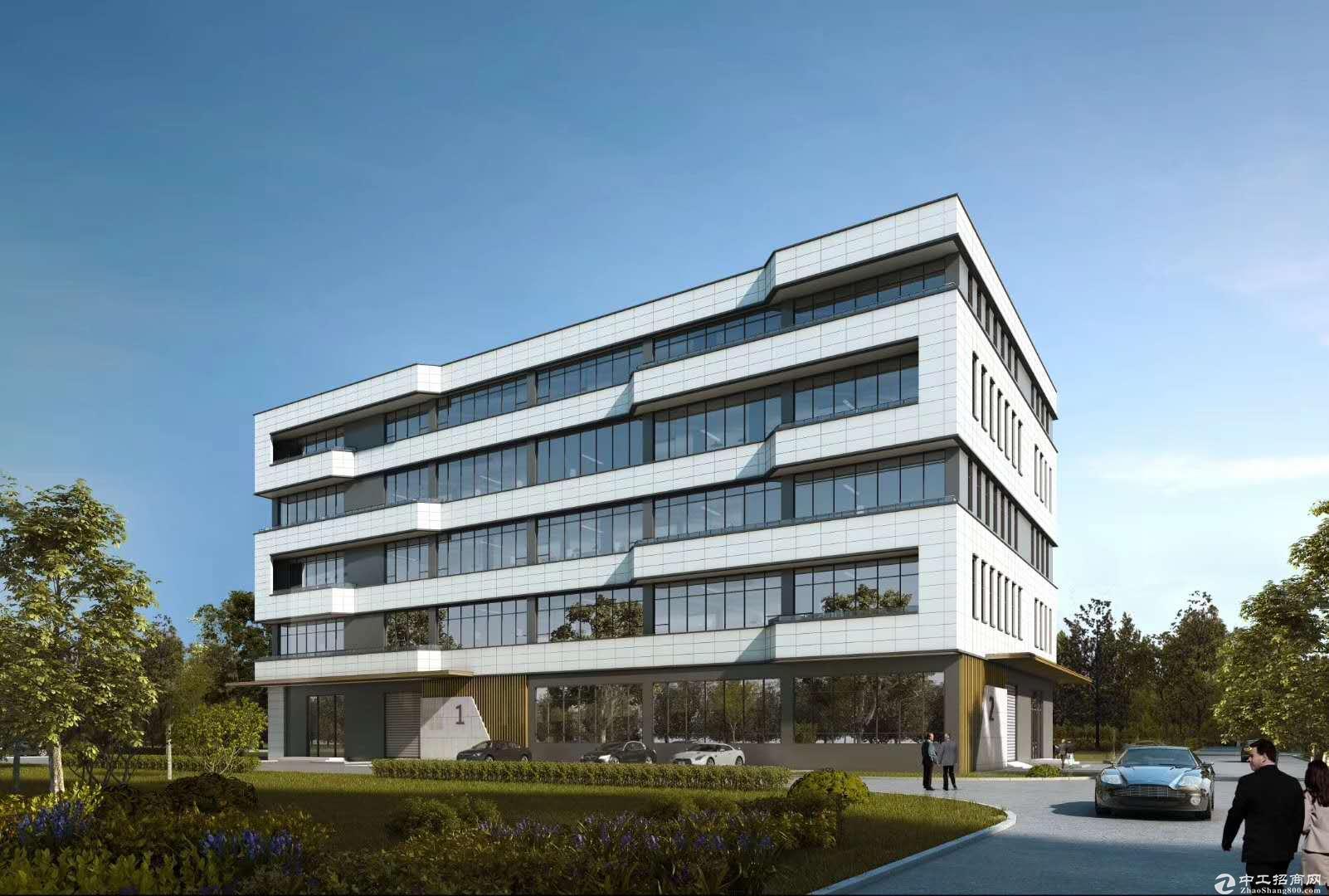 户型面积:面积段较灵活,主力户型二三层1200~3600平独立栋双拼厂房、研发楼