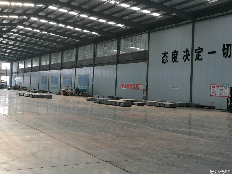长清大学城800平轻钢结构厂房,现房租赁。-图4