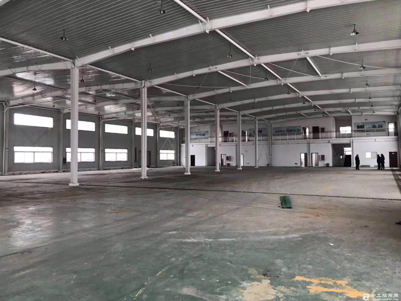通州正规园区 9300平轻钢厂房 可注册 不拆迁图片1