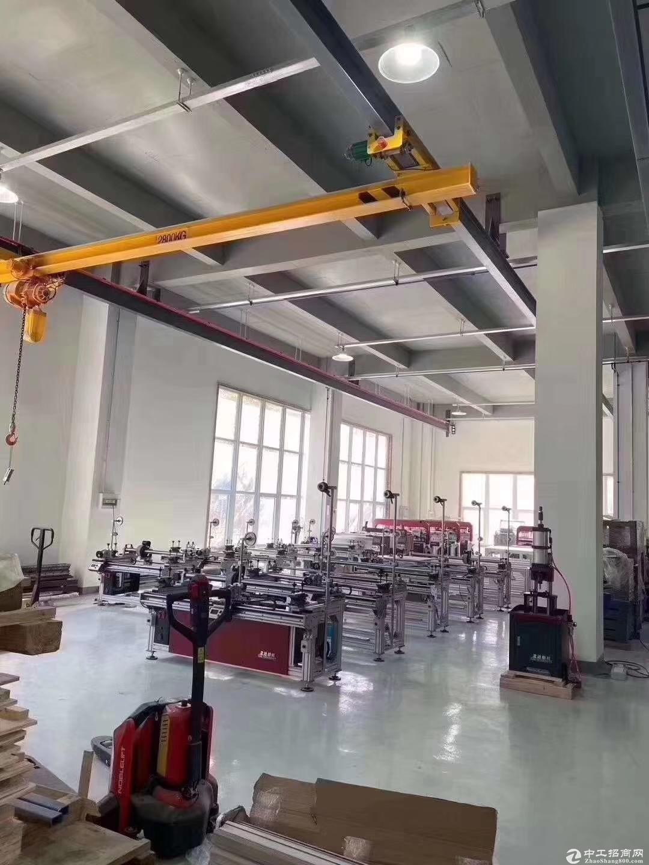 框架结构厂房首层8.1米可加航车三证齐火热招商-图4