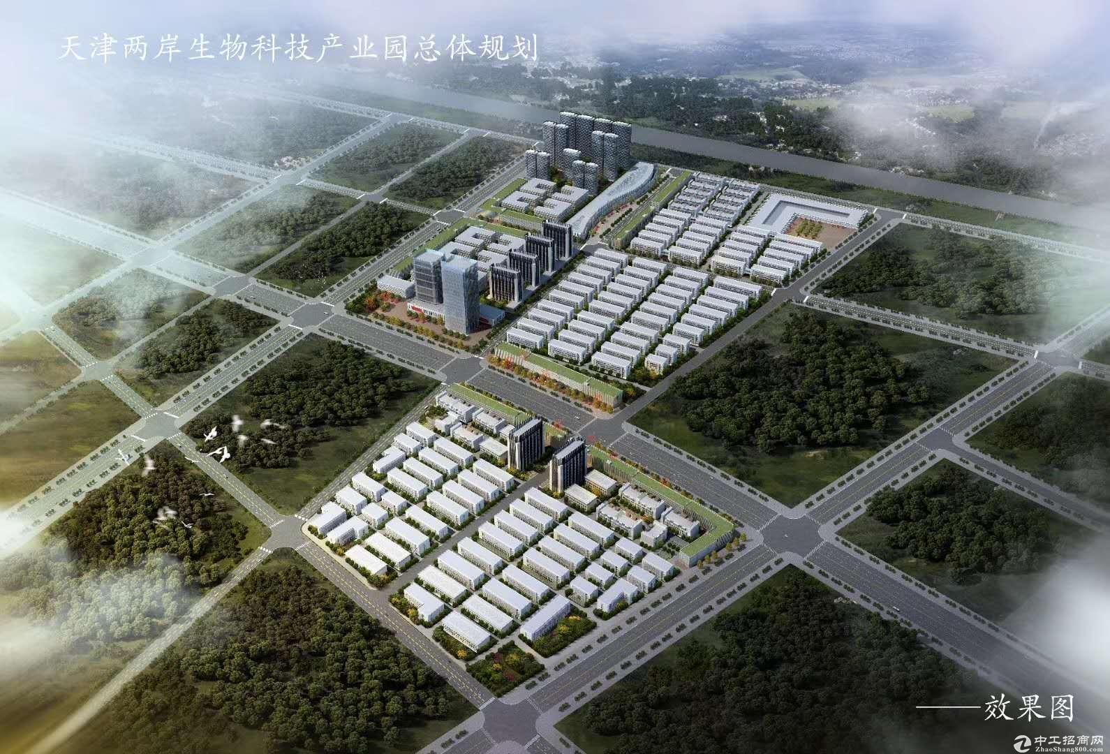 天津滨海新区板块生物制药产产业园厂房出售