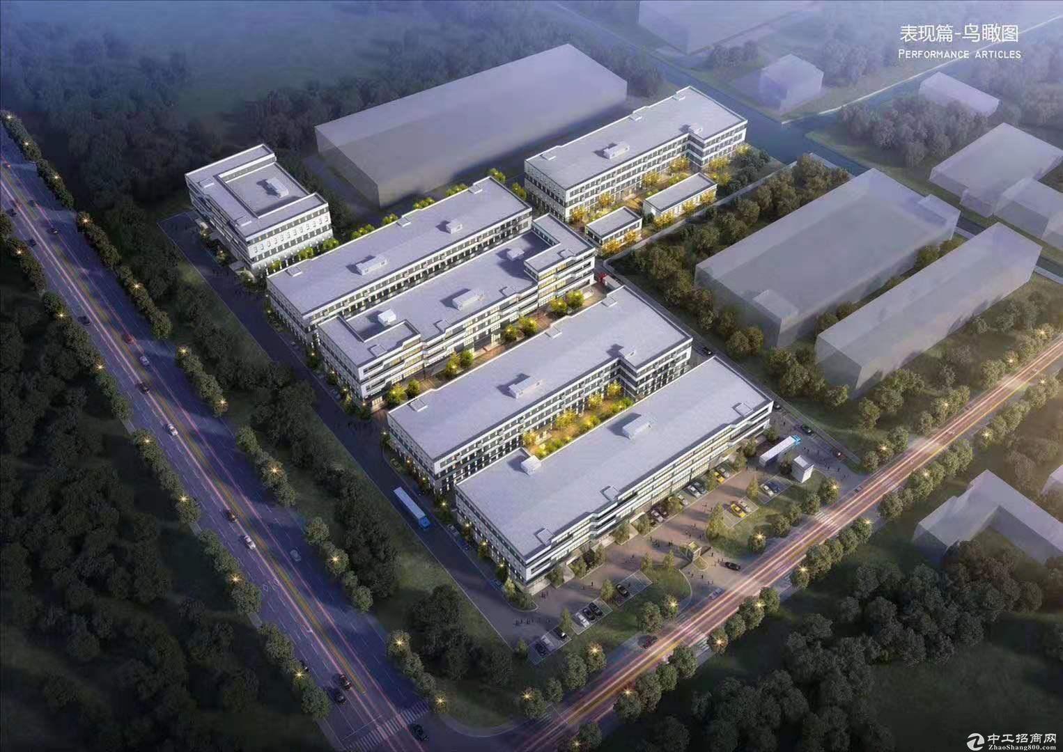 稀缺厂房开发商直招1700平到3100平三层厂房出售