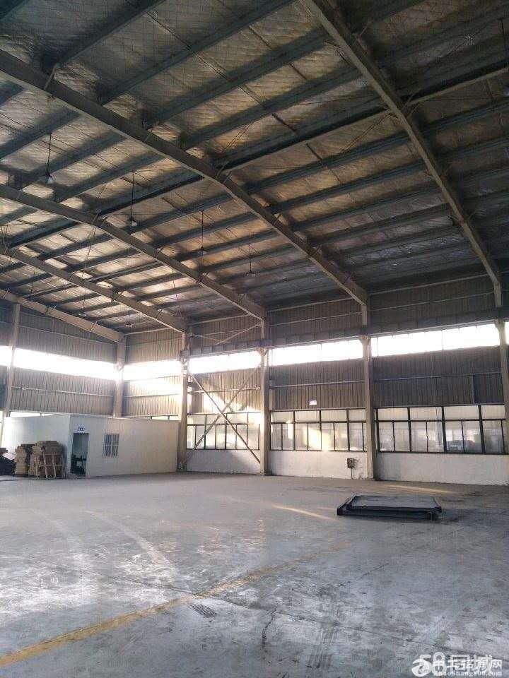 包河工业园标准钢结构厂房出租,有行吊