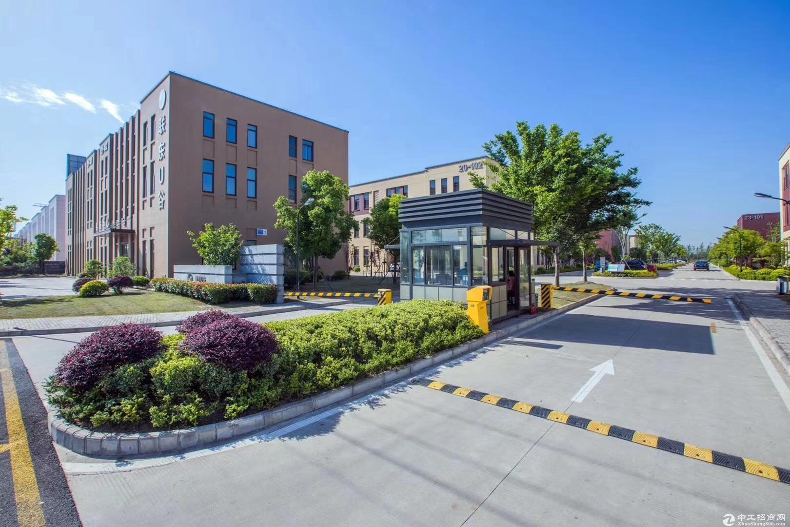 独栋厂房稀缺三层首层7.2米高架旁生产型厂房工业用地2层承重一吨