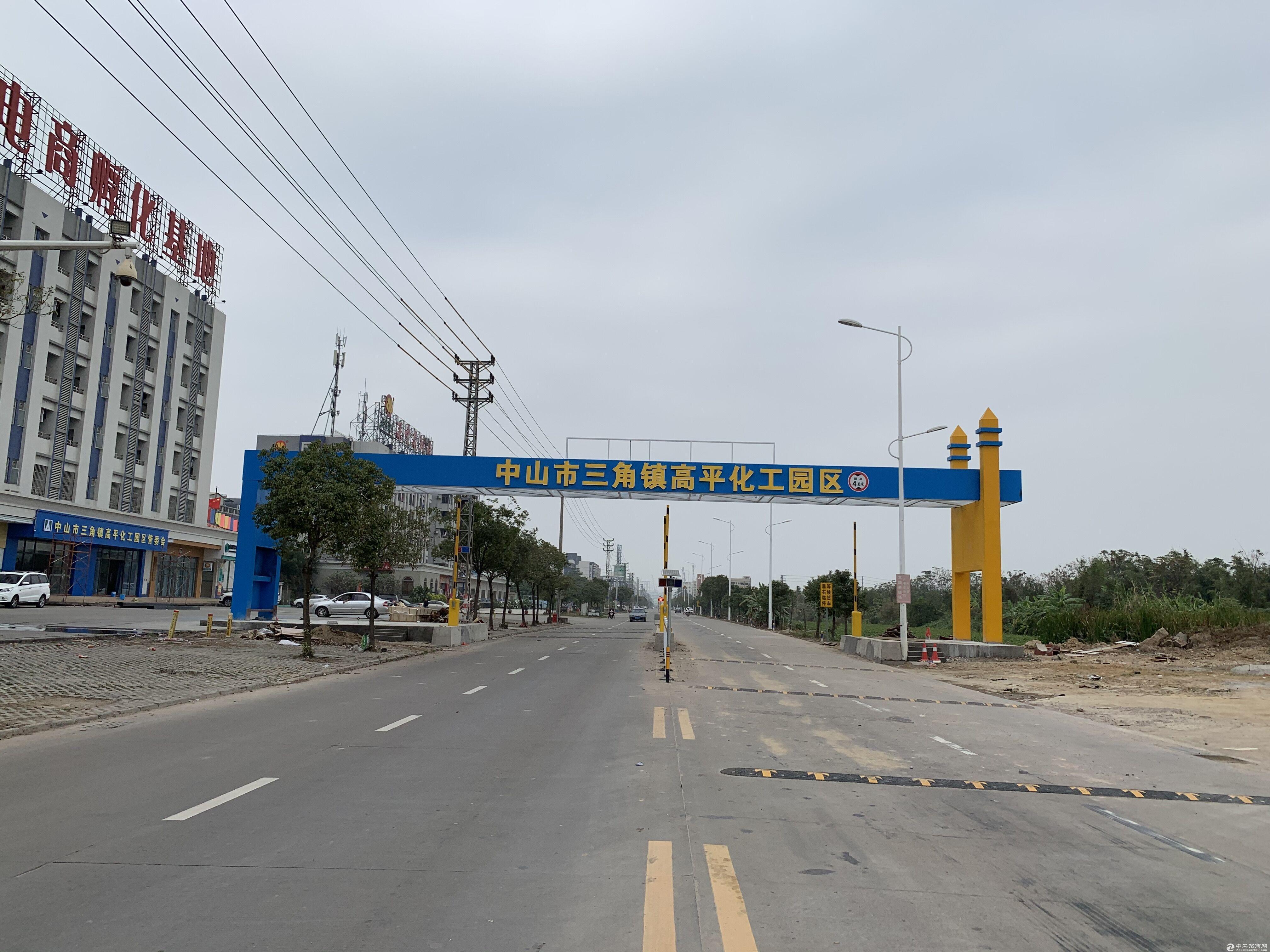 (可做化工)中山市化工综合区10万方厂房火热招租