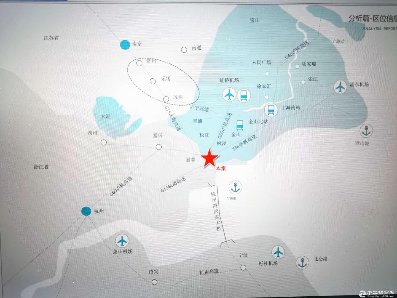 嘉兴平湖独栋3层厂房出售层高8.1米可架3-5T行车-图4