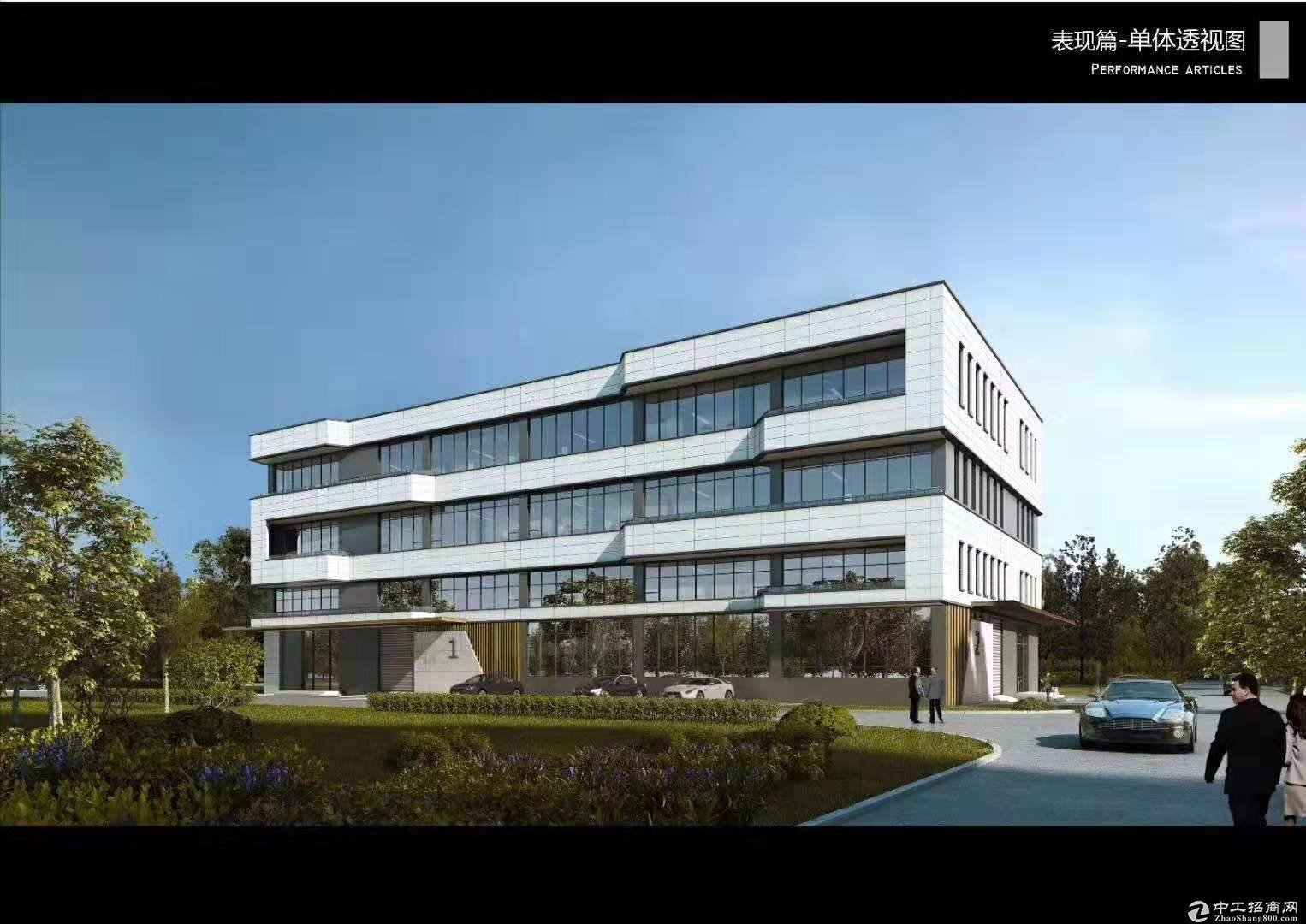 嘉兴平湖独栋3层厂房出售层高8.1米可架3-5T行车