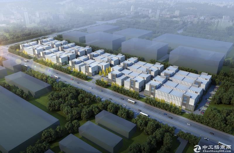 高品质独栋厂房  50年产权 稀缺两层半 送420平大露台-图2