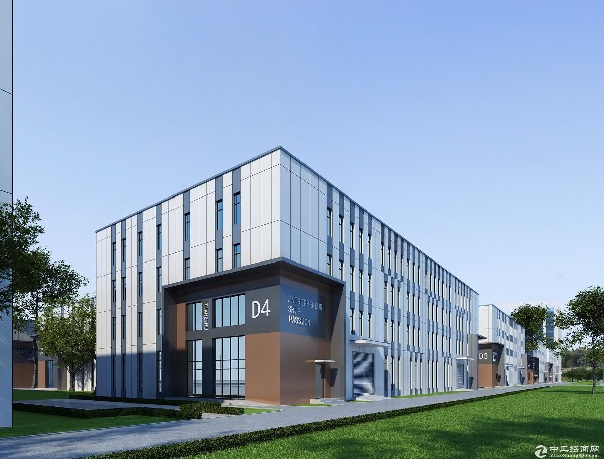 安吉天子湖工业园区内 全新钢结构厂房出售 3000元/平起售
