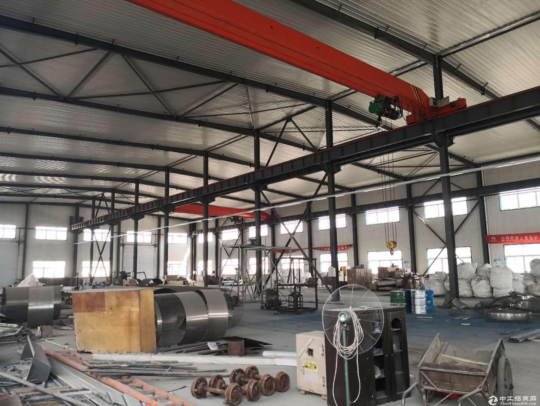 单层框架厂房 独栋厂房环评立项手续齐全 有天车