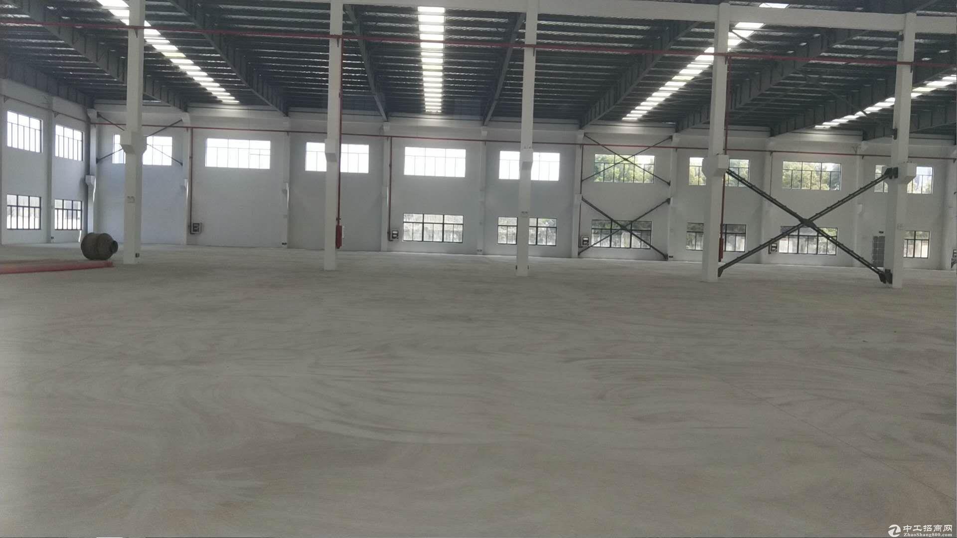 吴江汾湖开发区单层厂房出租,面积14500平米,