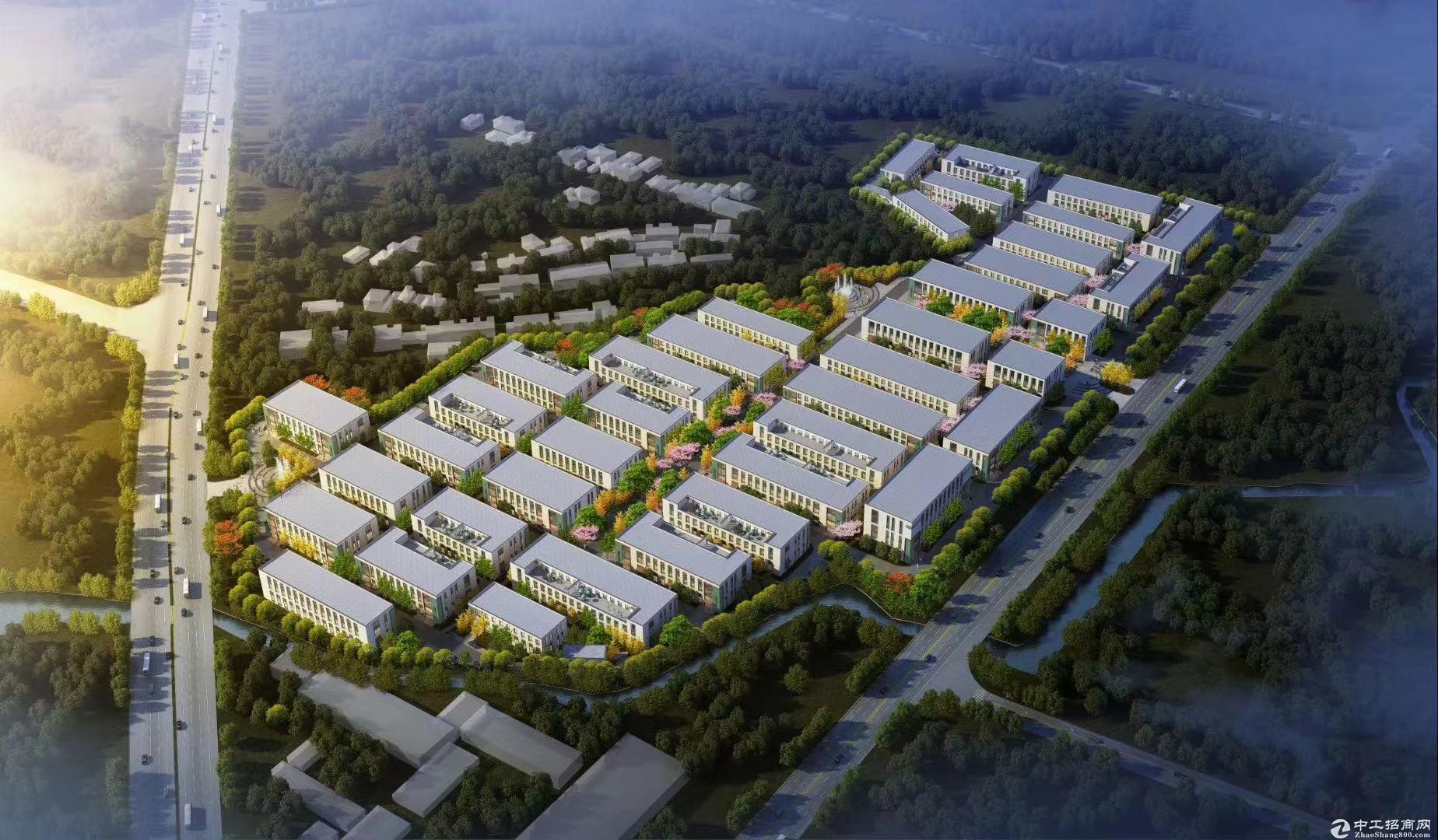 新区高标准工业厂房,大平层客货梯分离,两证齐全
