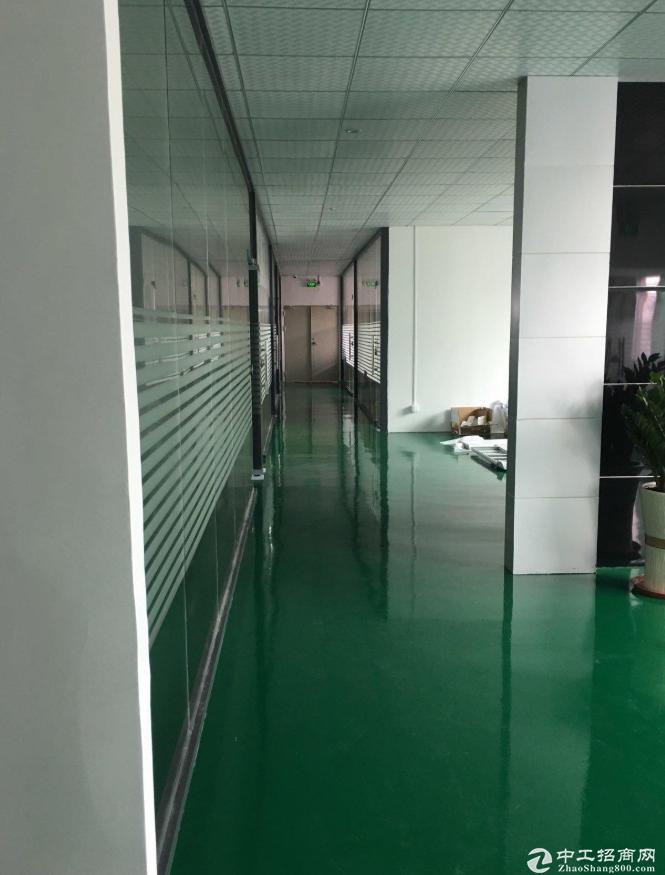 横栏永兴附近楼上1000平带装修厂房原房东直租