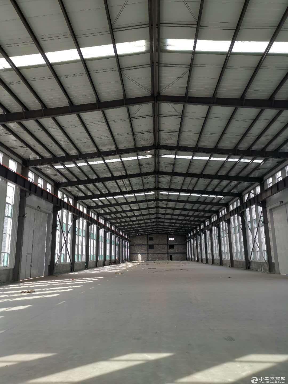 出租出售禹城市城区高速路口旁单一层厂房,可办环评,60万起