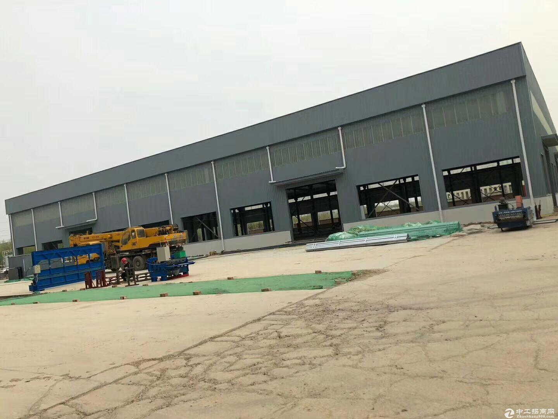 出售禹城市国道514旁100米单一层厂房,独门独院,可办环评