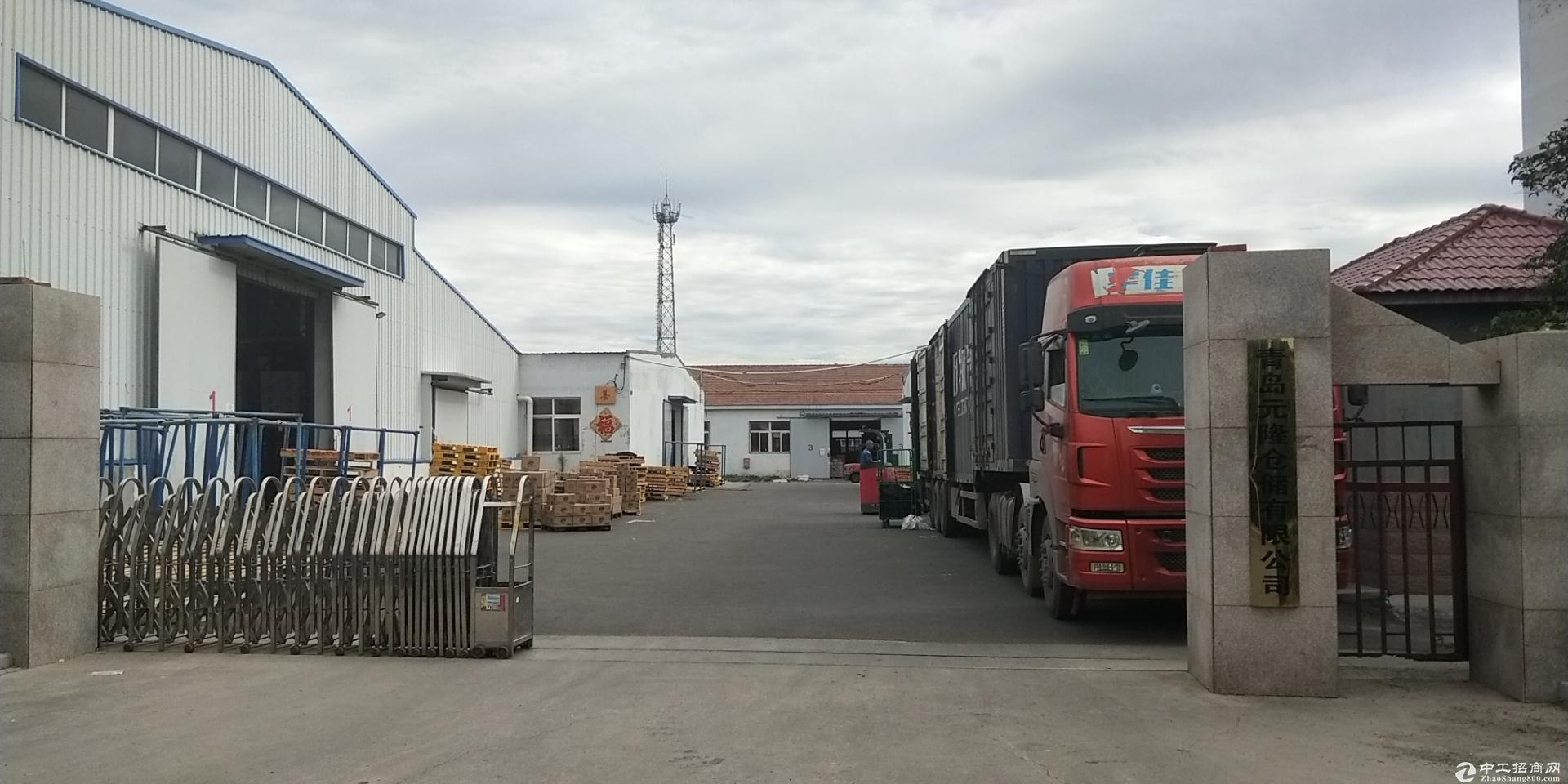 青岛即墨5000平米仓库出租,可分租,紧临高速和物流园图片1