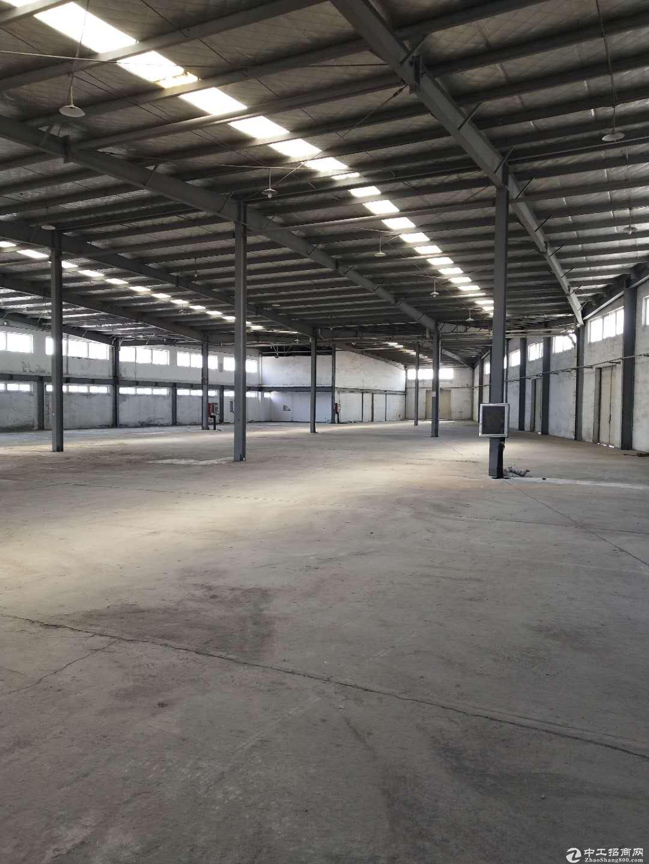 青岛即墨5000平米仓库出租,可分租,紧临高速和物流园