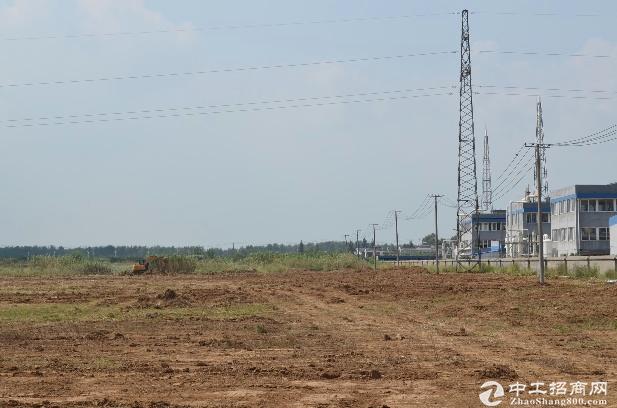 安徽合肥巢湖国道旁工业用地出售 40亩 带国土证