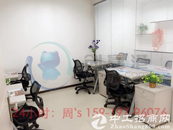 华强北赛格小面积办公室出租,880元,可注册!