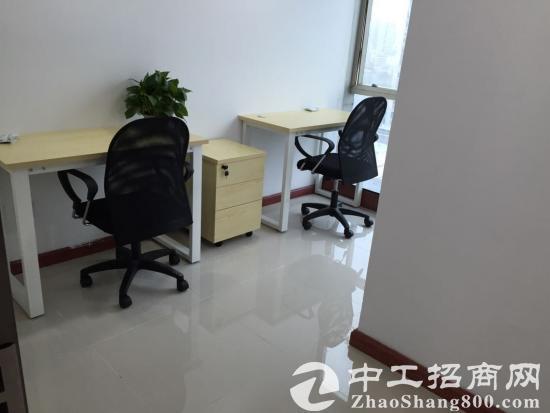 福田双地铁小型办公室出租,家私全包880元起