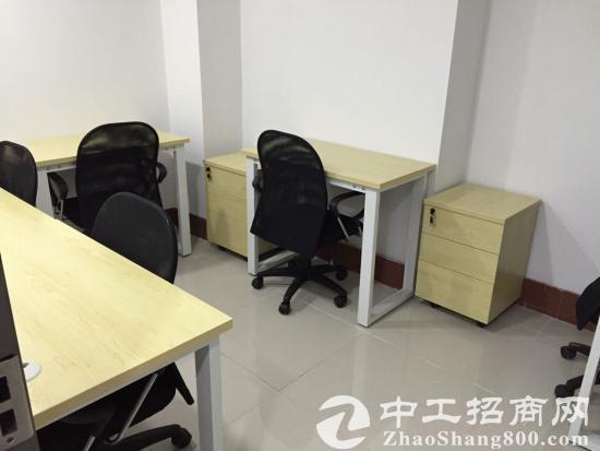 华强北近地铁口精装修办公室出租,可注册公司!