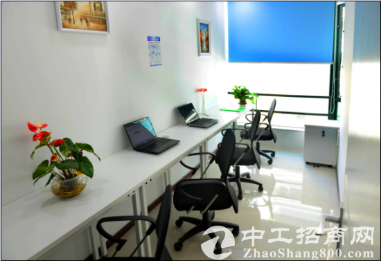 精装办公室出租 创业型全包价 可注册挂靠银行开-户