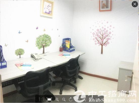 罗湖老街国贸地铁口精装办公室出租 可注册带租赁红本