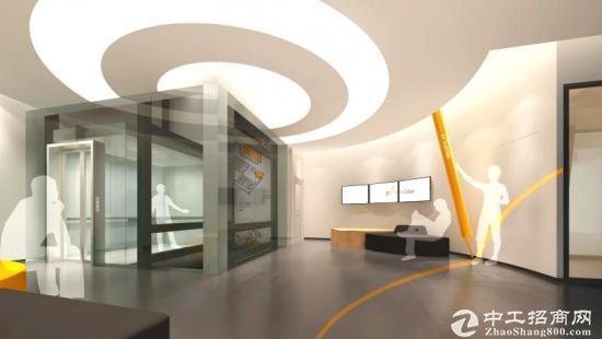 大沙河新装修二楼70平米办公室出租带隔间