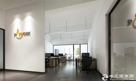 大沙河4楼简装办公室出租 专业设计 超高使用率