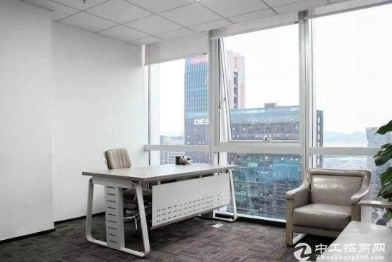 深圳湾生态园500平精装带家私 朝南电梯口 送绿植