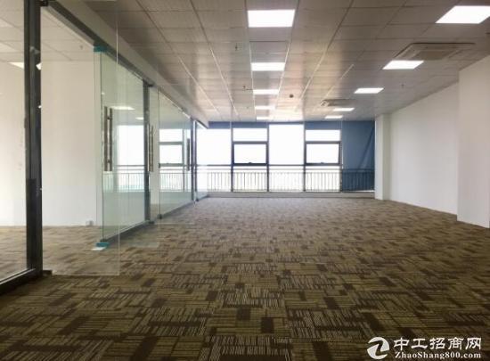华为总部天安云谷 350平 双阳台精装办公室出租