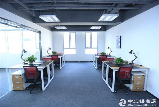 (符合政策免3年租金)高端写字楼,精装80平办公室
