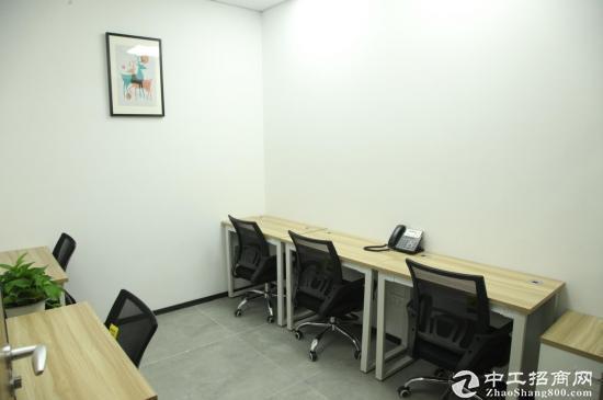 5折0押金地铁口小型办公室带隔间注.册进出口看场地