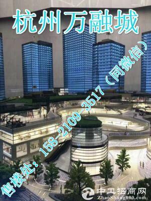 杭州北软件园首付58万起的精装微loft公寓【杭州万融城】