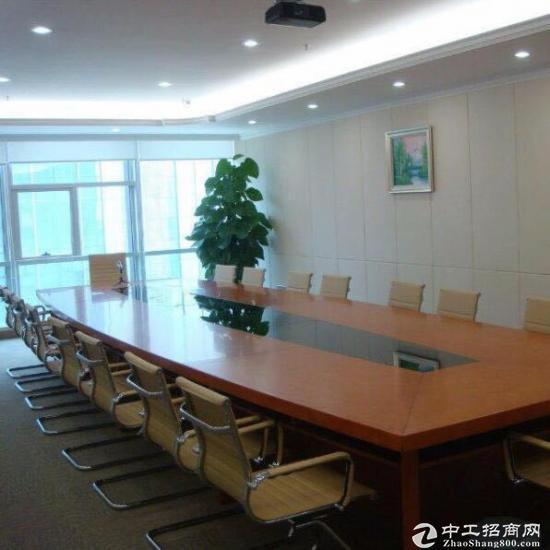 南城鸿禧,全新豪装318平方,租金8500元每月,即可办公使