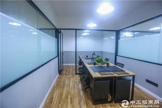 精装6人写字间,内设经理室,玻璃隔断