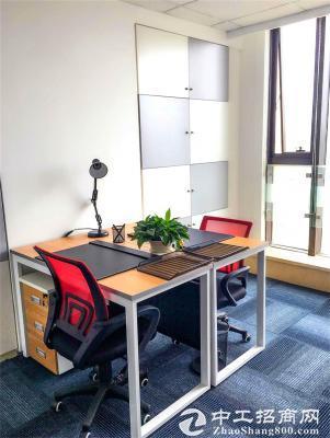 市南精装2-3人间办公室:拎包入驻+可注册公司