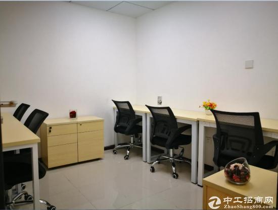 南山小型办公室 家私齐全 带电脑即可办公