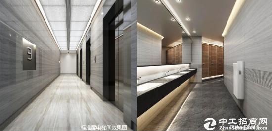 龙岗坂田甲级写字楼1100㎡ 层高 5.4米 使用率达75%图片4