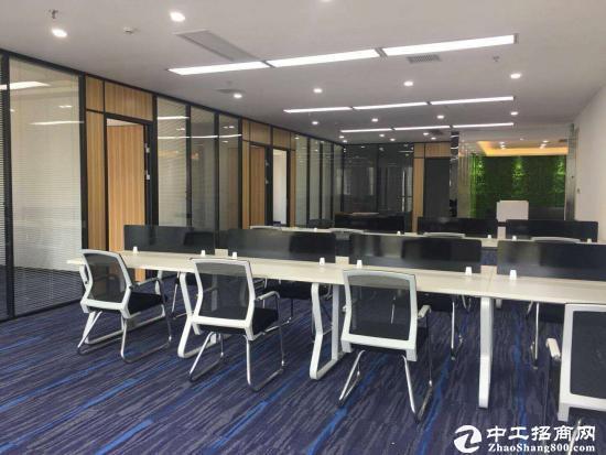 横岗塘坑地铁站旁边新出178平方精装修办公室3+1格局,拎包图片4