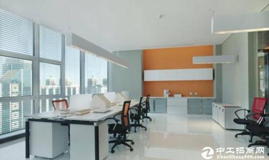 龙岗精装修办公室出租200平米图片1