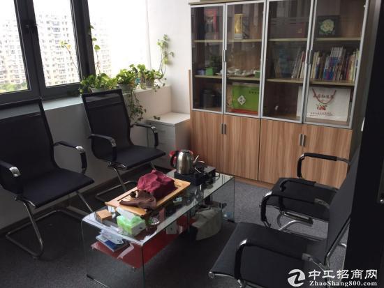 广兰路地铁站展讯中心精装修小面积商务办公室朝南实拍