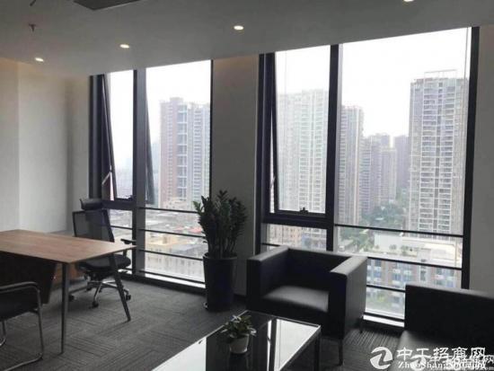 南联地铁站精装修办公室1400平 大小可分租图片4