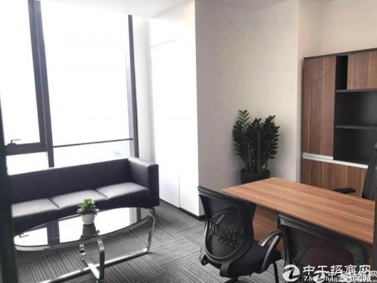 南联地铁站精装修办公室1400平 大小可分租图片5