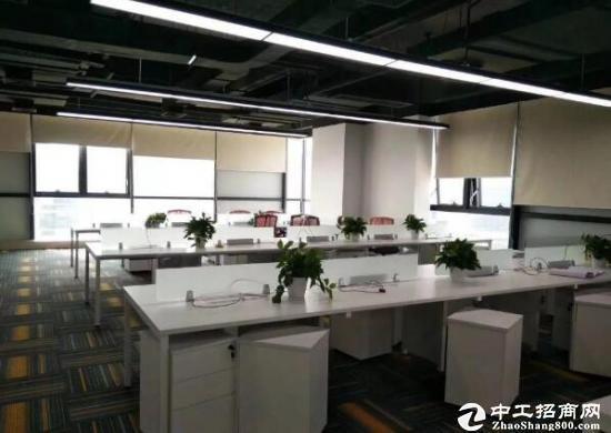 横岗塘坑地铁站旁边新出167平方精装修办公室出租!拎包进驻!图片3