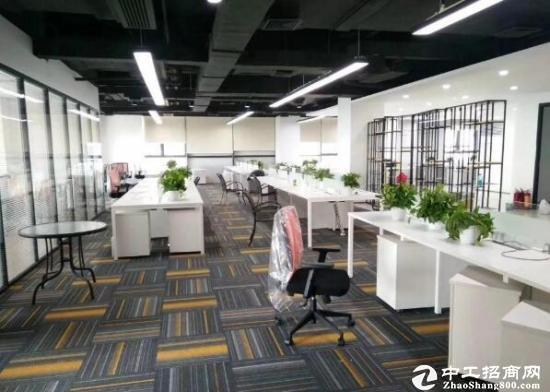 横岗塘坑地铁站旁边新出167平方精装修办公室出租!拎包进驻!图片4