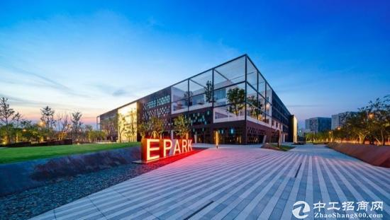 张江国创中心研发办公楼标准装修现房交付